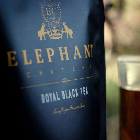 elephant chateau royal black tea