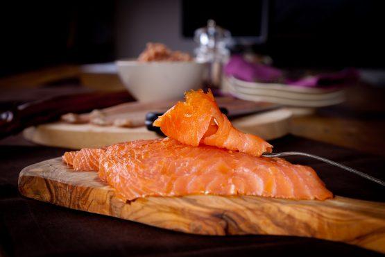 alaskan smoked salmon